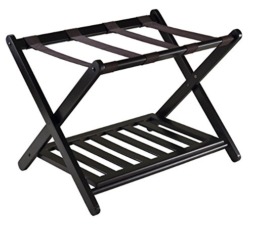 Big Save! Winsome 92436 Luggage Rack with Shelf (Renewed)