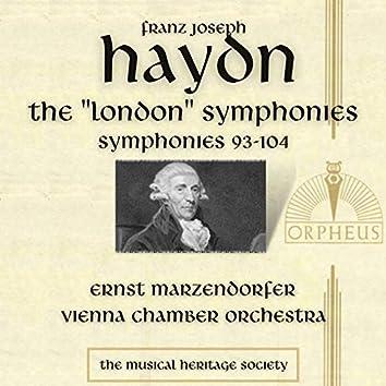 "Haydn: Symphonies 93-104 - The ""London"" Symphonies"