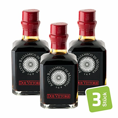 Due Vittorie - Aceto Balsamico Di Modena I.G.P Argento 3er Pack - 3x250ml