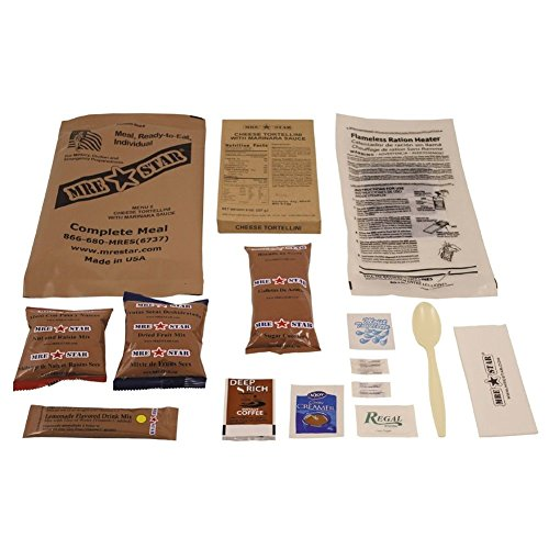 Original US Army Food MRE Ready-to-Eat BW Notration Menü: 5