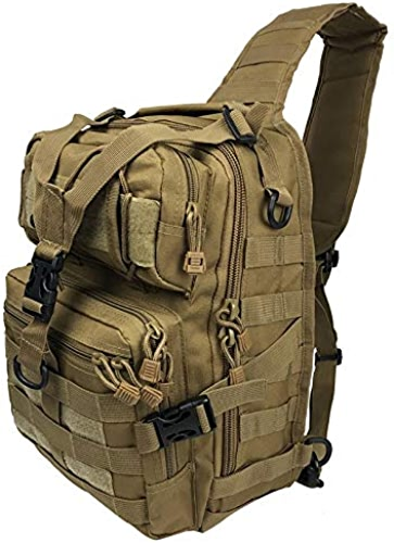 WULIHONG-sac à dos20l Pack d'assaut Tactique Militaire Sling Sac à Dos Armée Molle Sac à Dos étanche pour Randonnée en Plein Air Camping Chasse