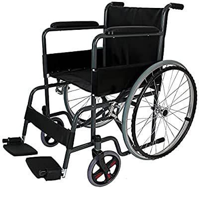 Self Propelled Folding Lightweight Easy Use Wheelchair (YES, I am VAT Exempt)