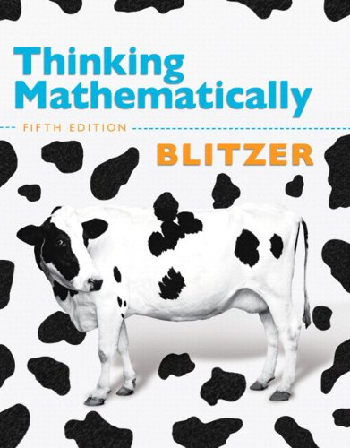 Thinking Mathematically with Integrated Review with  Worksheets plus MyMathLab with Pearson eText -- Access Card Package