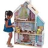 KidKraft Zoey Magic Lights & Sounds Dollhouse with Ez Kraft Assembly, Multi
