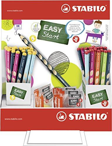 STABILO 330/72-2HB potlood EASYgraph, 72 stiften en 12 puntenslijper, display