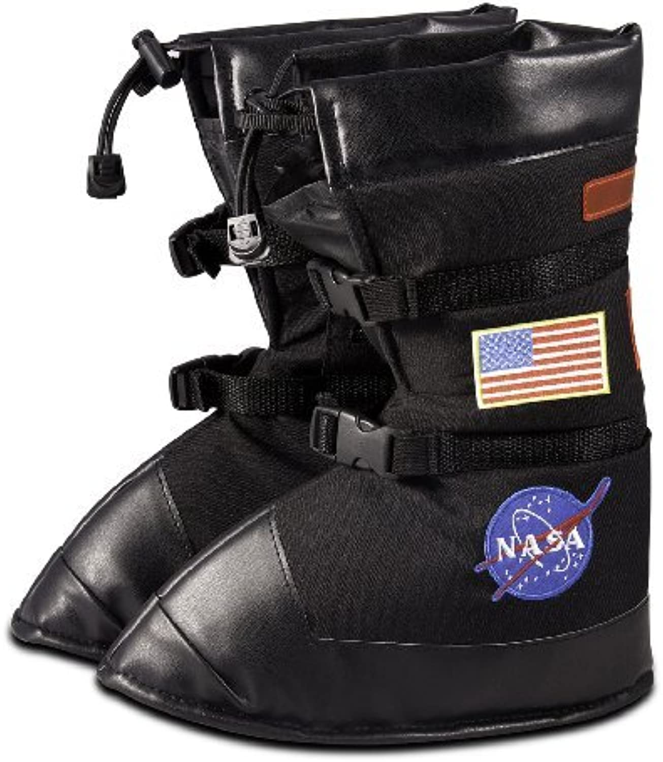 Aeromax Astronaut Boots, size Small, Black, with NASA patches by Aeromax