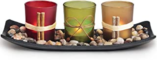 LETINE Home Decor Candle Holders Set for Living Room &...