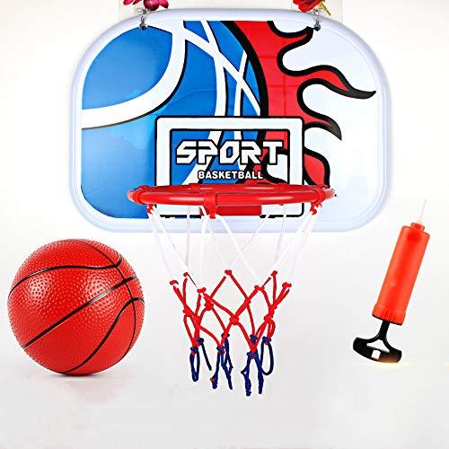 Alan 23cm Basketballkorb Wandmontage Basketballnetz Kinder Basketballbrett mit Ring für Outdoor Indoor