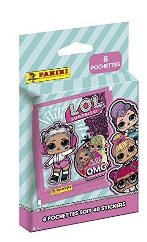 Panini France SA-LOL 4 OMG Sticker, 8 Taschen, 004017KBF8