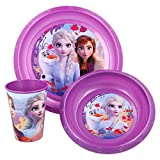 SET EASY 3 PCS. (PLATO, CUENCO Y VASO 260 ML) EN ESTUCHE FROZEN 2