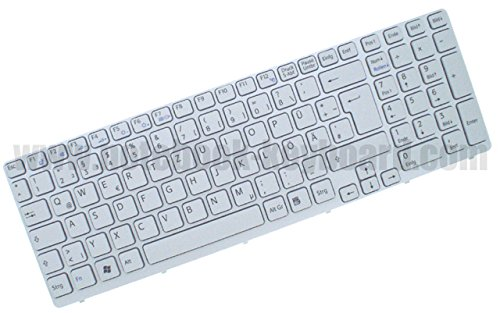 Orig QWERTZ Tastatur für Sony Vaio SVE15 SVE151C11M SVE1511C119B SVE1511Q1ESI DE Neu