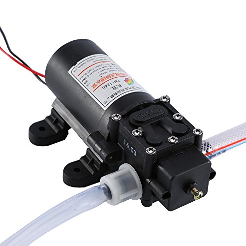 Qiilu Kit de bomba de transferencia de intercambio de líquido de aceite extractor de aceite de auto 12V 60W