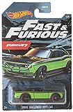 Hotwheels Dodge Challenger Drift Car, Fast Furious 1/5 [Green]