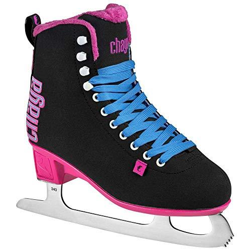 chaya Damen Classic Black/Pink Schlittschuhe, 40