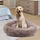 NOOYC Donut Cuddler Calming Bed Dog, Self-Warming Calming Bed Cats Bed Sleeping Nest per J...