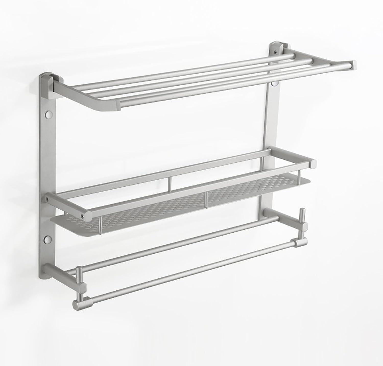 Cpp Shelf Bathroom Shelves Folding Multi-Function Space Aluminum Shelves