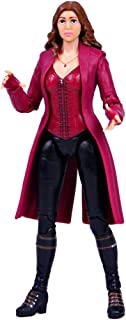 Huangyingui Titan Hero Series Scarlet Witch Action Figure Hero Action Figure Movable Ornaments 6.6 Inch Doll Child Birthday Hero Doll Infinity War Action Figure