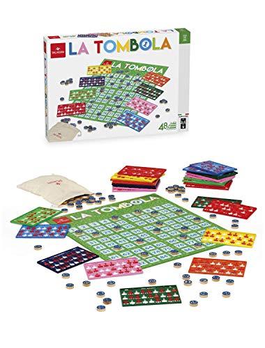 Dal Negro Tombola Gioco da Tavolo Giocattolo 858, Multicolore, 8001097539031