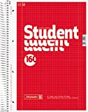 Brunnen Notepad, Wood-Free Paper, 70 g/m², A4, Square-Ruled with 2 Margins, White160 Sheets