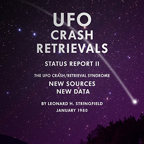 UFO Crash Retrievals - Status Report II cover art