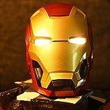 B LL Haut-Parleur Bluetooth Iron Man, Cadeau créatif, Radio sans Fil, Audio de téléphone d'ordinateur