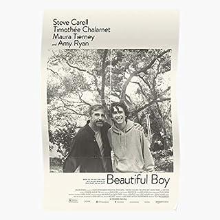 Boy Man Cmbyn Steve Chalamet Beautiful Carell Timothee Timmy Regalo para la decoración del hogar Wall Art Print Poster 11.7 x 16.5 inch