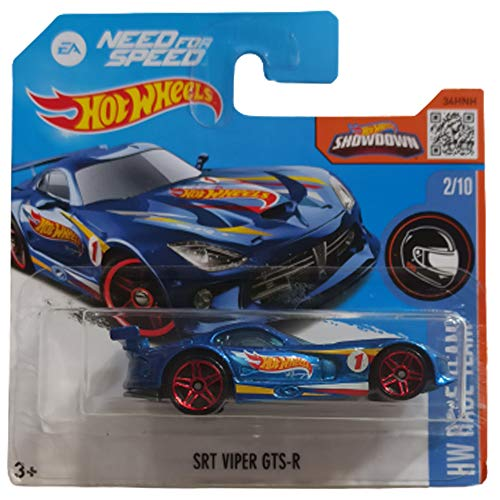 Hot Wheels SRT Viper GTS-R Need For Speed HW Race Team 2/10 2016 (2/250) Short Card
