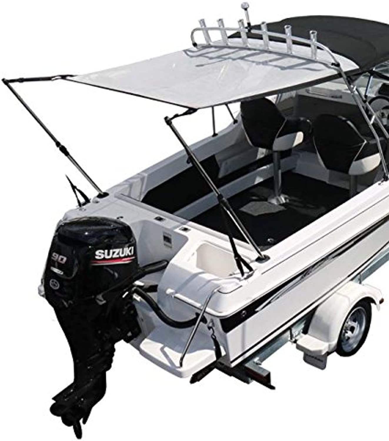 Oceansouth TTop Stern Shade Kit  Grey