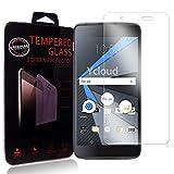 Ycloud Protector de Pantalla para Blackberry DTEK50 Cristal Vidrio Templado Premium [9H Dureza][Alta Definicion]