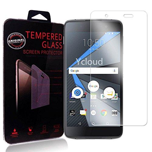 Ycloud Panzerglas Folie Schutzfolie Bildschirmschutzfolie für BlackBerry DTEK50 screen protector mit Festigkeitgrad 9H, 0,26mm Ultra-Dünn, Abger&ete Kanten