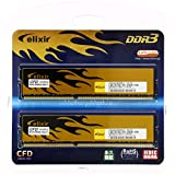 CFD販売 Elixir デスクトップPC用メモリー PC-12800(DDR3-1600) 16G (8GB×2枚) 240pin DIMM W3U1600HQ-8GC11