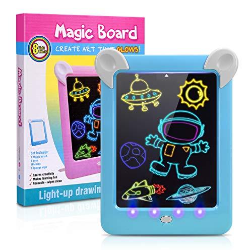ATOPDREAM Kinder Spiele ab 3 Jahre,Interessantes Geschenk 3-12 Jahre Kinder 8 9 Jährige Jungen Kinderspiele für 3-12 für Junge 5 6 Jahre Schreibtafel Spielzeug für Jungen
