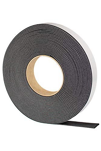 戸当り 隙間 戸 防音 緩衝材 粘着 テープ 付 ゴム スポンジ 厚み 2 mm 幅 25 mm 長さ 10 M EPDM エチレンプロピレン タフシート 25 岡安ゴム
