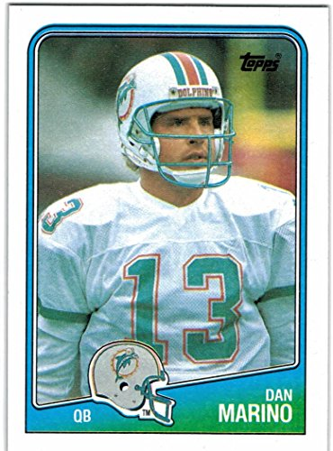 1988 Topps Miami Dolphins Team Set with 2 Dan Marino & 2 Mark Clayton - 15 NFL Cards