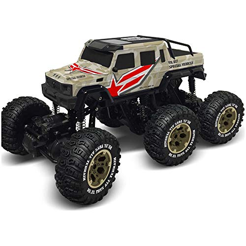 Re.El Toys- Auto Radiocomandata, Colore Mimetico, 2177