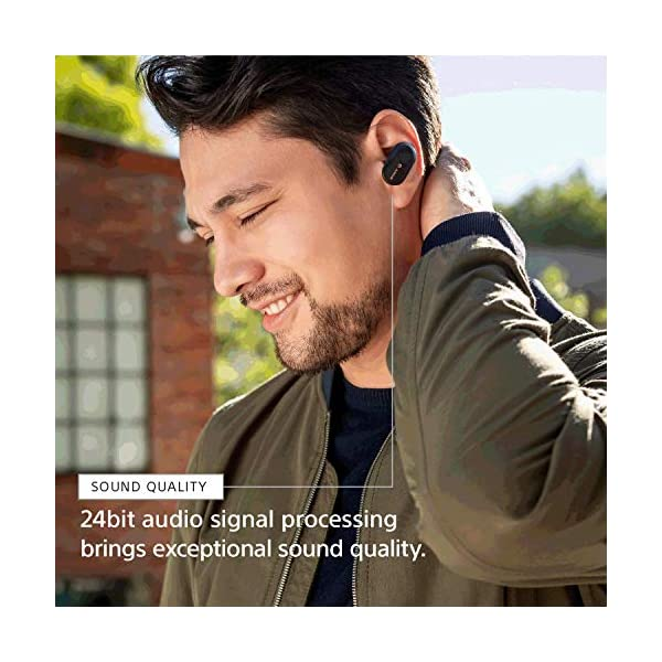Sony WF-1000XM3 Industry Leading Noise Canceling Truly Wireless Earbuds with Alexa voice control, Black 6