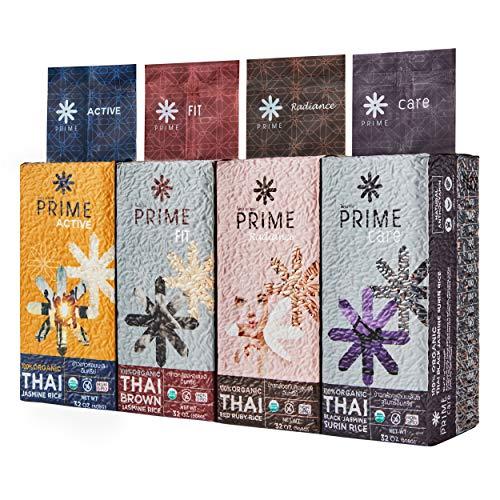 Prime Fit Series 100% Organic Thai Brown Jasmine Rice Non-GMO