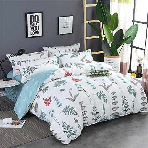 None Branded Brushed Duvet Cover Set king Size Aloe cotton three-piece suitLightweight Microfiber Queen (Double) Size Duvet Cover Set 200x230