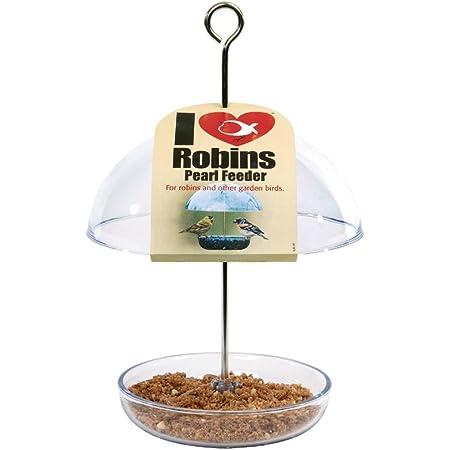 con protezione antipioggia da 25 cm Godetevi una visione chiara degli uccelli da mangiare. Mangiatoia per uccelli da giardino con cupola a pioggia
