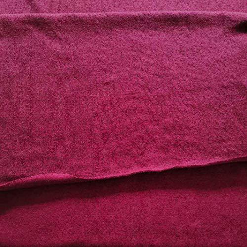 Fabric by The Yard 11 Heavy Rib 4 Ways Stretch Knit Fabric Cotton Spandex...