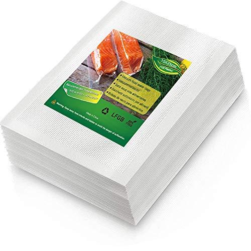 BoxLegend Sacchetti Sottovuoto Alimenti, 100 Sacchetti 15x25 cm per la Conservazione Degli Alimenti e Cottura Sottovuoto, Senza BPA, LFGB Approvato, Compatibile con Qualsiasi Macchina per Sottovuoto