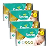 Couches Pampers - Taille 1 new baby premium care - 154 couches bébé