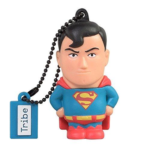 Clé USB 8 Go Superman - Mémoire Flash Drive 2.0 Originale DC Comics, Tribe FD031401