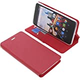 foto-kontor Cover for Archos 50f Helium book-style red case