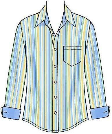 McCalls M6044 - Patrón de Costura para Confeccionar Camisa de ...
