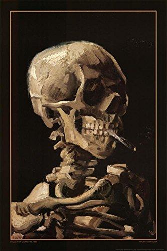 Image of Vincent Van Gogh Skeleton...: Bestviewsreviews