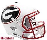 Georgia Bulldogs AMP Alternate Series Riddell Speed Full Size Replica Football Helmet - NFL Replica Helmets