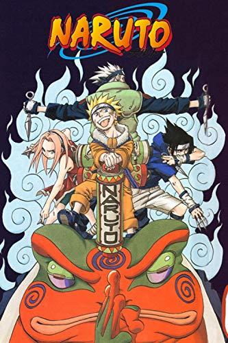 HDGREF Puzzles 1000 Piezas Adultos Naruto Level Seven Kakashi Naruto Sasuke Sakura Rompecabezas De Madera Puzzle De Rompecabezas Decoración del Hogar De 1000 Pc para Los Adultos Y Los Niños