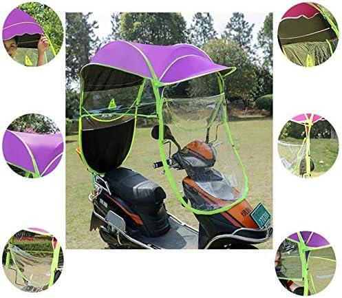 Motor Totalmente Cerrado Scooter Paraguas Mobility Sun Shade /& Rain Cover Impermeable Hoja de Arce AA-SS Universal Car Motor Scooter Umbrella Moto Cubierta para Lluvia