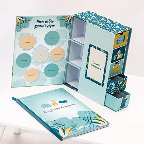 Domiva - Caja de tesoros y diario de nacimiento Zanimo 1 unidad